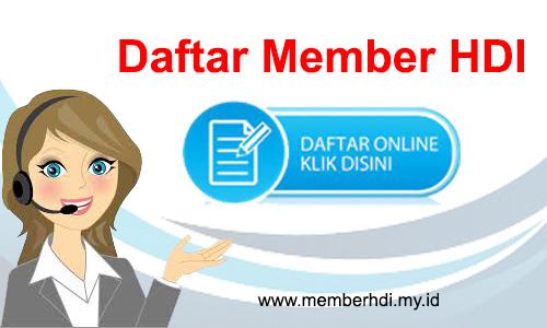 Daftar Member HDI